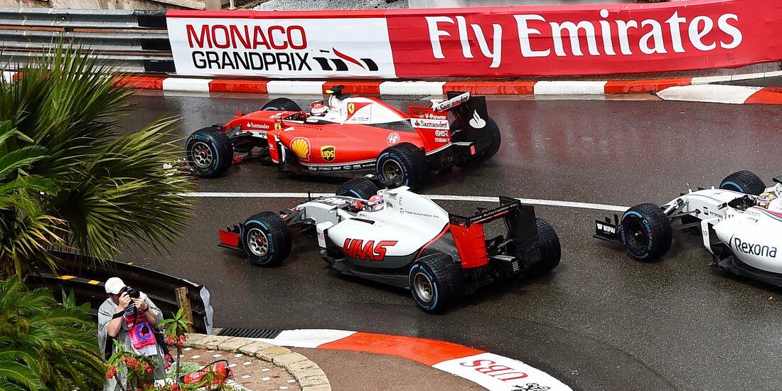 Romain Grosjean - GP Monaco 2016