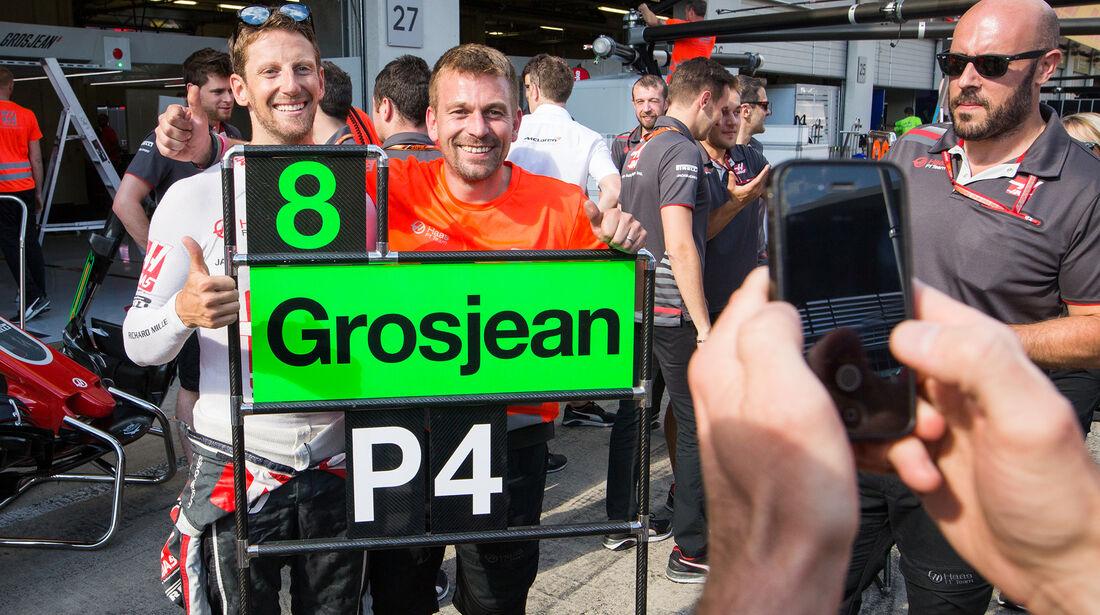 Romain Grosjean - GP Österreich 2018