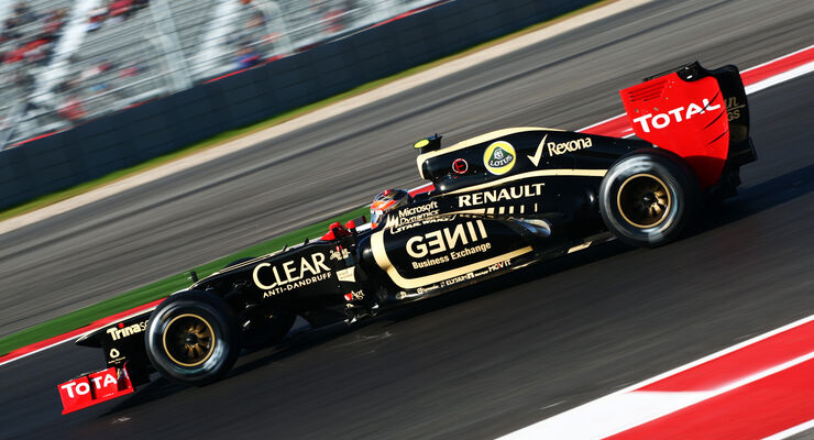 Romain Grosjean GP USA 2012