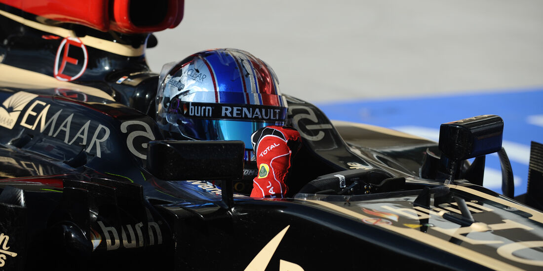 Romain Grosjean - GP USA 2013