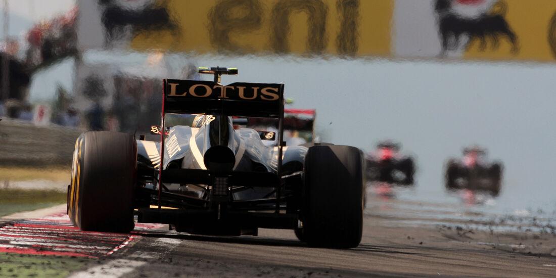 Romain Grosjean GP Ungarn 2012