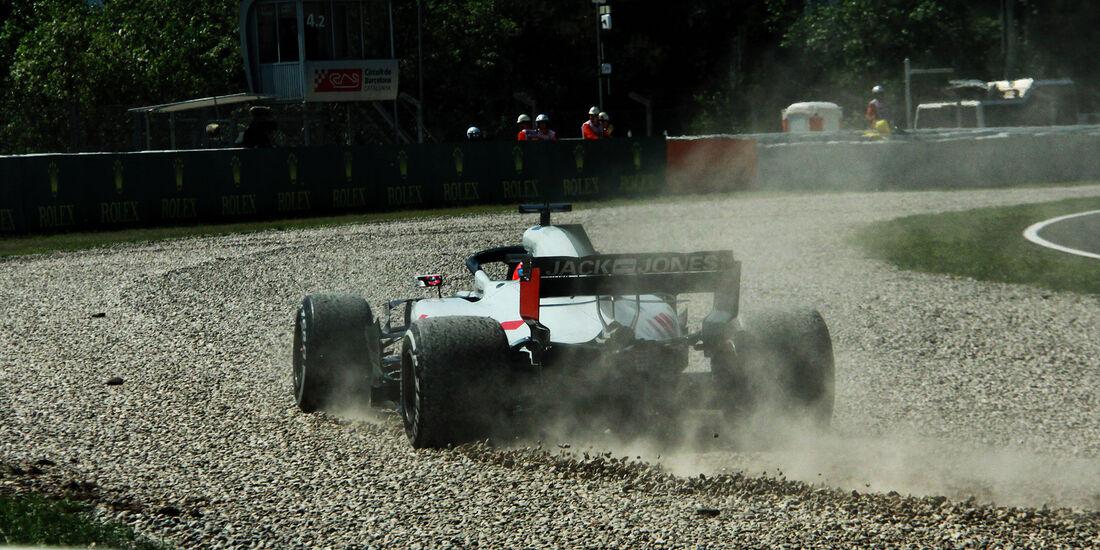 Romain Grosjean - HaasF1 - Formel 1 - GP Spanien - Barcelona - 11. Mai 2018