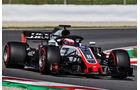 Romain Grosjean - HaasF1 - Formel 1 - Testfahrten - Barcelona - Dienstag - 15-5-2018