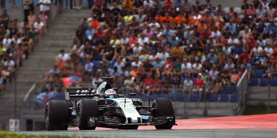 Romain Grosjean - HaasF1 - GP Österreich 2017 - Qualifying