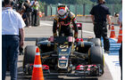 Romain Grosjean - Lotus - Formel 1 - GP Belgien - Spa-Francorchamps - 22. August 2015