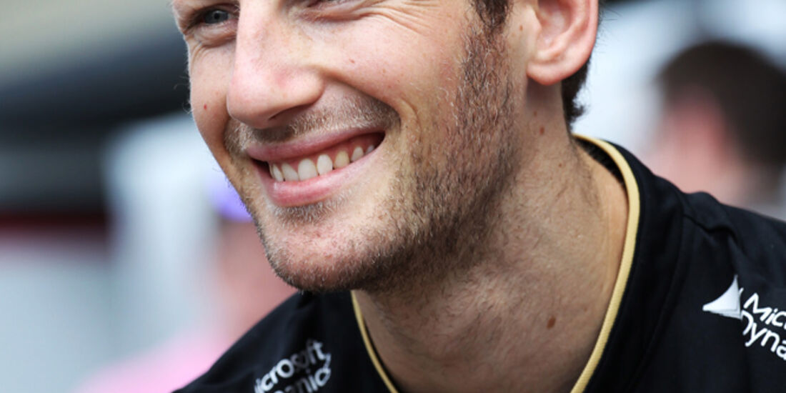 Romain Grosjean - Lotus - Formel 1 - GP Brasilien - 21. November 2013