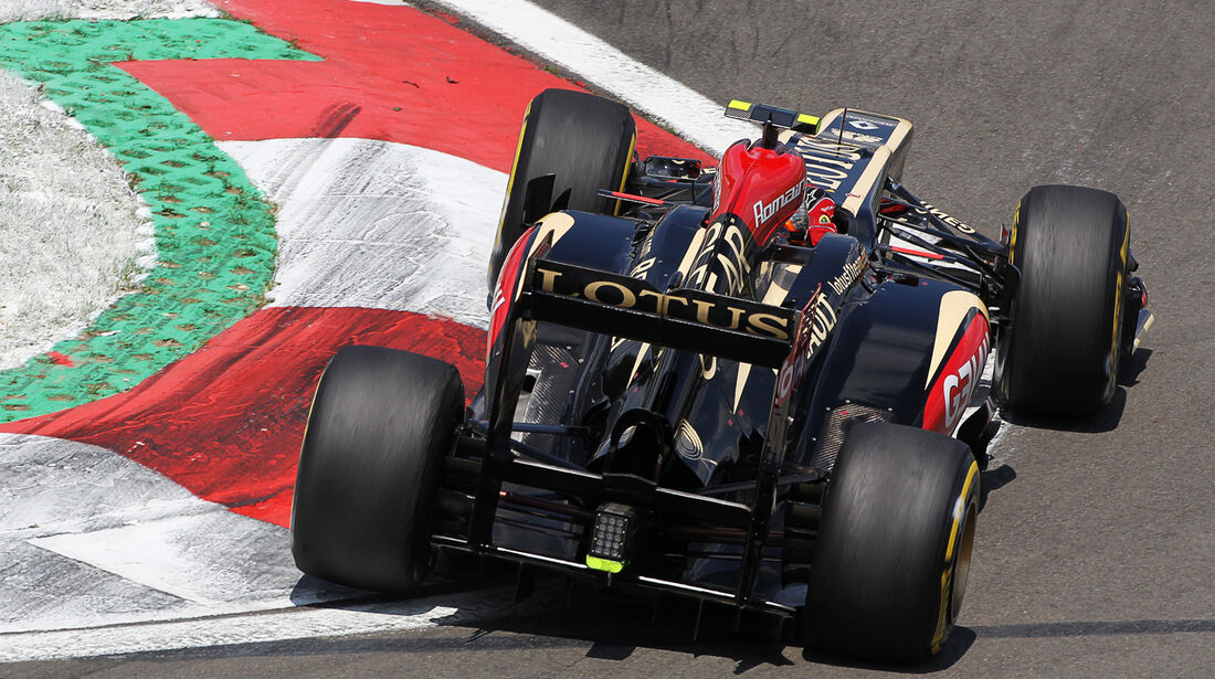 Romain Grosjean - Lotus - Formel 1 - GP Deutschland - 6. Juli 2013