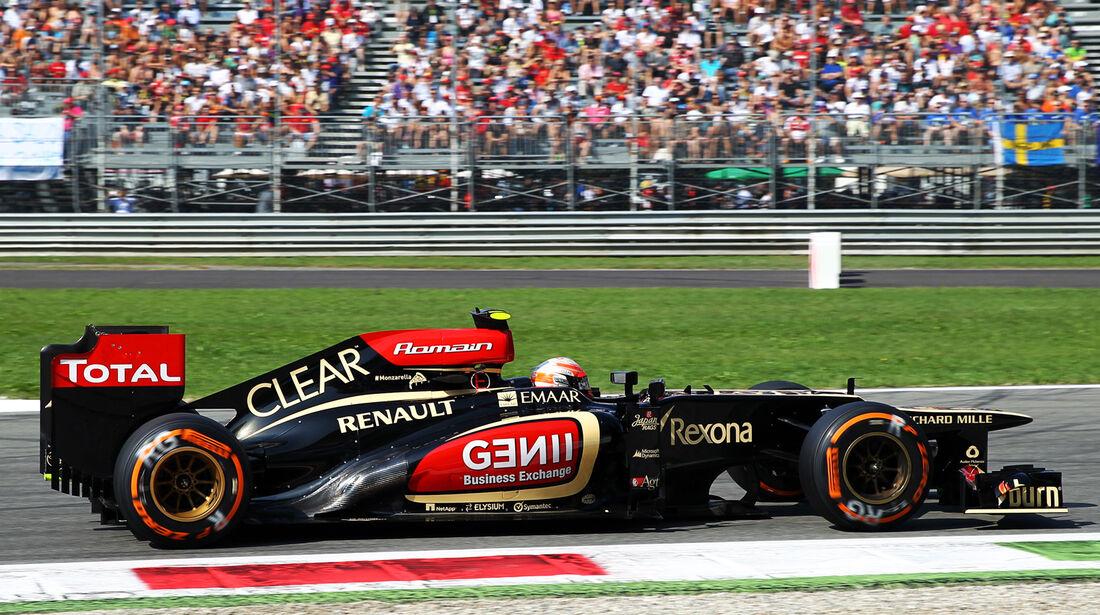 Romain Grosjean - Lotus - Formel 1 - GP Italien - 7. September 2013