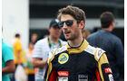 Romain Grosjean - Lotus - Formel 1 - GP Mexiko - 31. Oktober 2015
