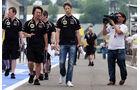 Romain Grosjean - Lotus - Formel 1 - GP Ungarn - Budapest - 26. Juli 2012