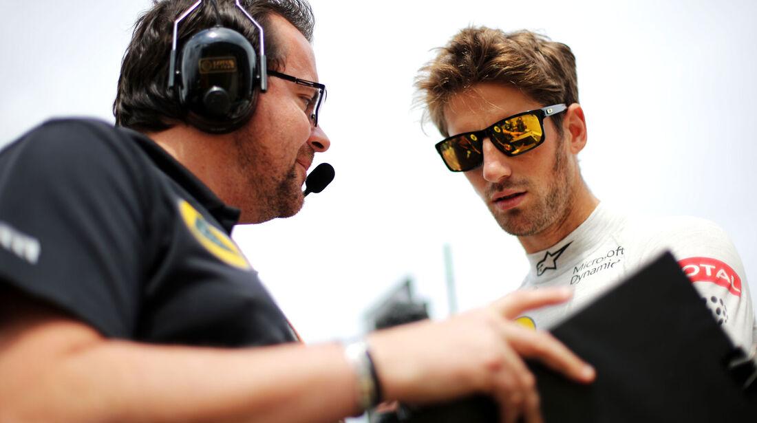 Romain Grosjean - Lotus - GP England - Silverstone - Rennen - Sonntag - 5.7.2015