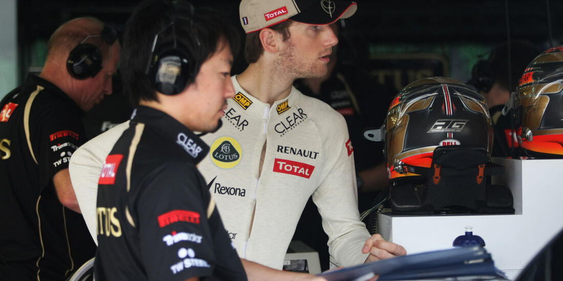 Romain Grosjean - Lotus - GP Malaysia - Training - 23. März 2012