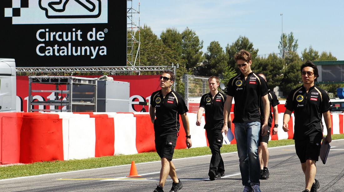 Romain Grosjean - Lotus - GP Spanien - 10. Mai 2012