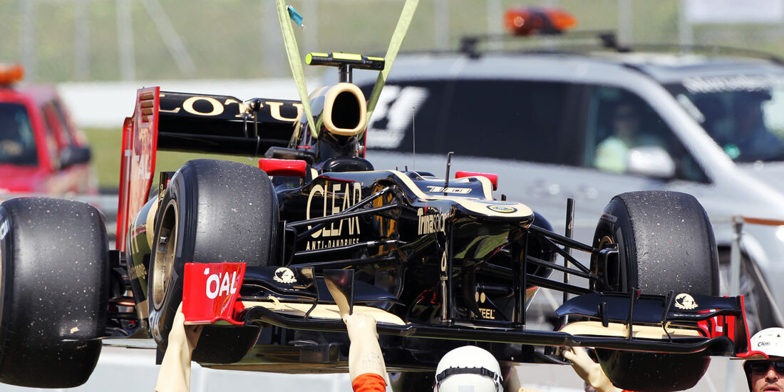 Romain Grosjean - Lotus - GP Spanien - 12. Mai 2012