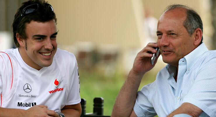 Ron Dennis & Fernando Alonso - Formel 1 - 2007