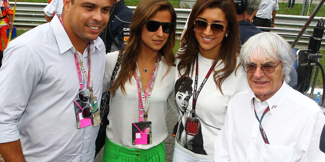 Ronaldo & Bernie Ecclestone - Formel 1 - GP Italien 2013