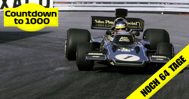 Ronnie Peterson - Lotus 72 - Monaco 1974