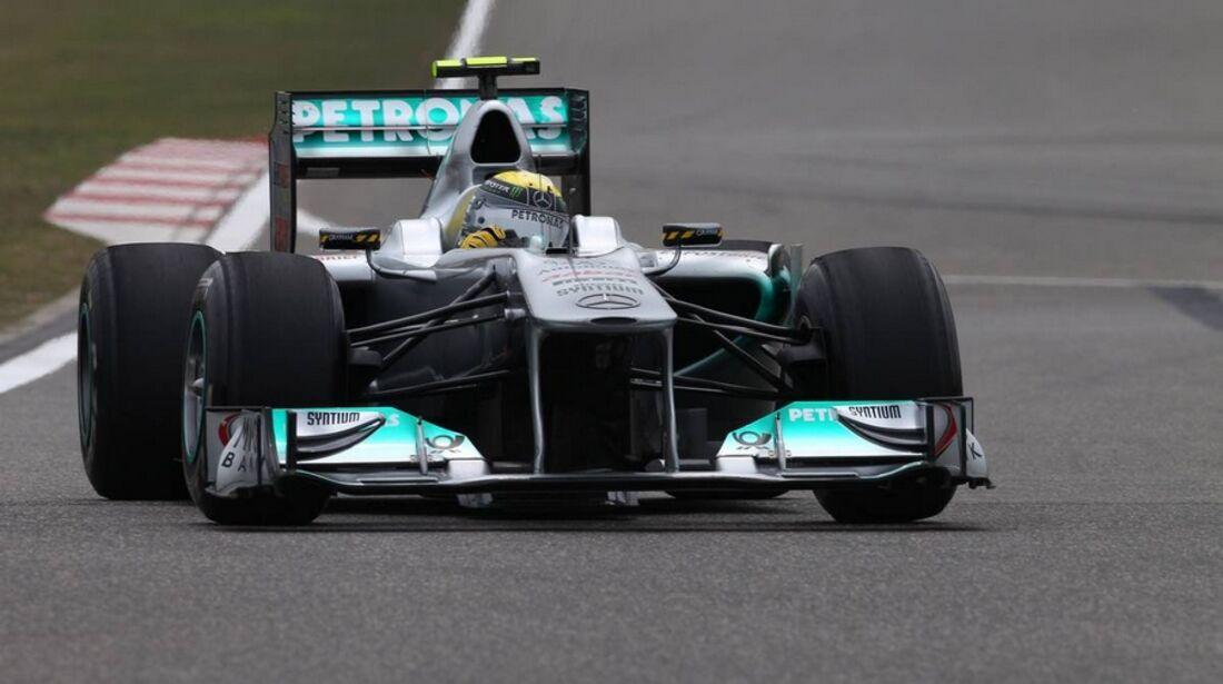 Rosberg Formel 1 GP China 2011