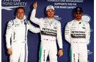 Rosberg - Hamilton - Bottas - GP Russland - Qualifying - Samstag - 10.10.2015