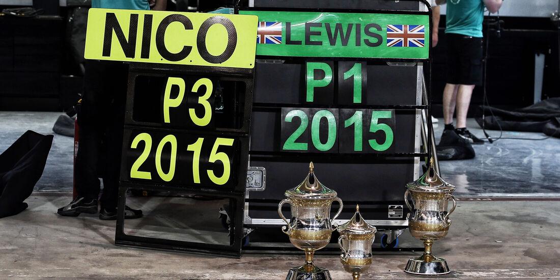 Rosberg & Hamilton - GP Bahrain 2015