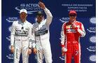 Rosberg, Hamilton & Räikkönen - Formel 1 - GP Kanada - Montreal - 6. Juni 2015