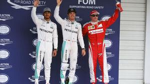 Rosberg - Hamilton - Räikkönen - GP Japan - Suzuka - Qualifying