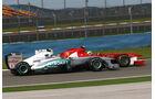 Rosberg & Massa