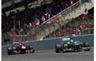 Rosberg & Vettel - Formel 1 - GP Spanien 2013