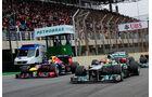 Rosberg vs. Vettel - GP Brasilien 2013