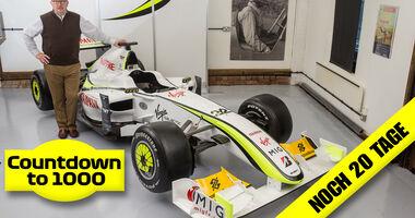 Ross Brawn - BrawnGP 001