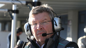 Ross Brawn Jerez Test F1 2013