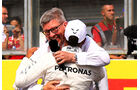 Ross Brawn & Lewis Hamilton - Formel 1 - GP Belgien - Spa-Francorchamps - 26. August 2017
