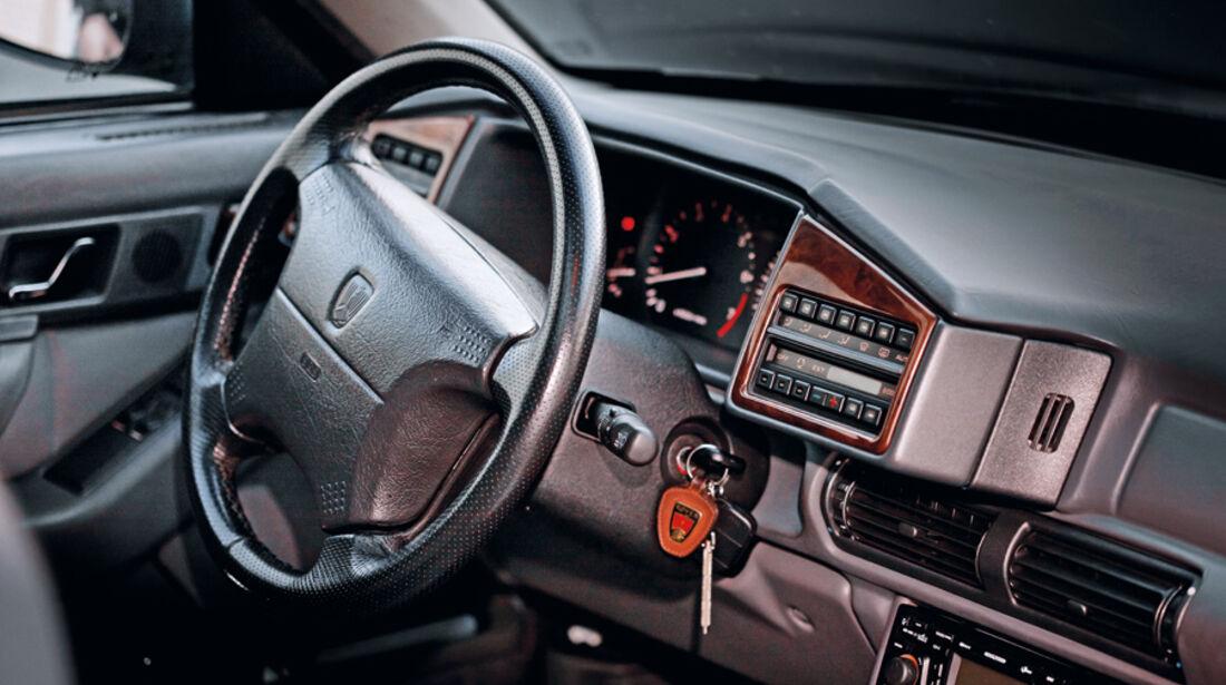 Rover 827 Coupé, Cockpit, Detail