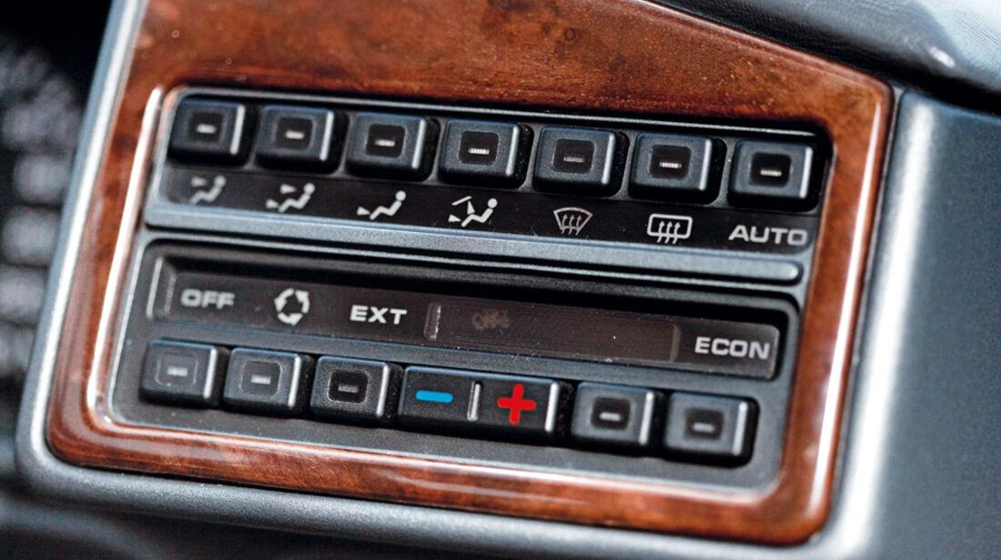 Rover 827 Coupé, Klimaautomatik, Detail