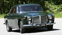 Rover P5B, Frontansicht
