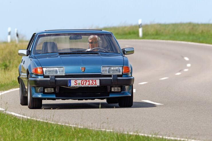 Rover Vitesse, Frontansicht