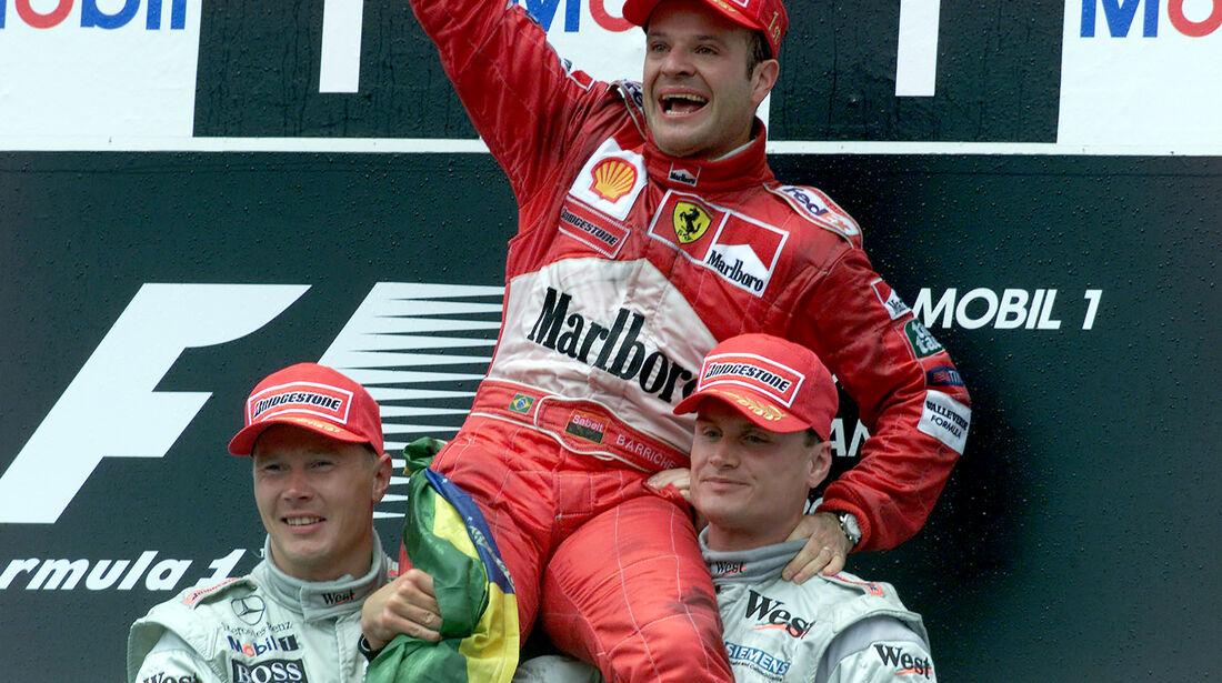 Rubens Barrichello - GP Deutschland 2000