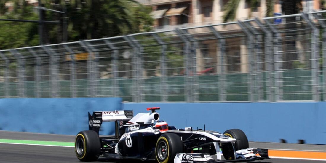 Rubens Barrichello - GP Europa - Qualifying - 25. Juni 2011