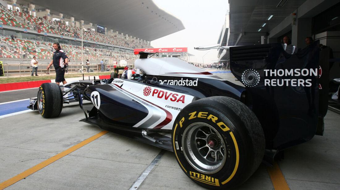 Rubens Barrichello - GP Indien - Training - 28.10.2011