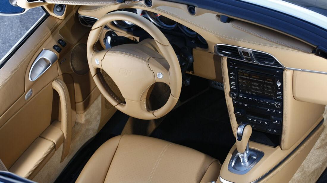 Ruf Roadster 3.8, Cockpit
