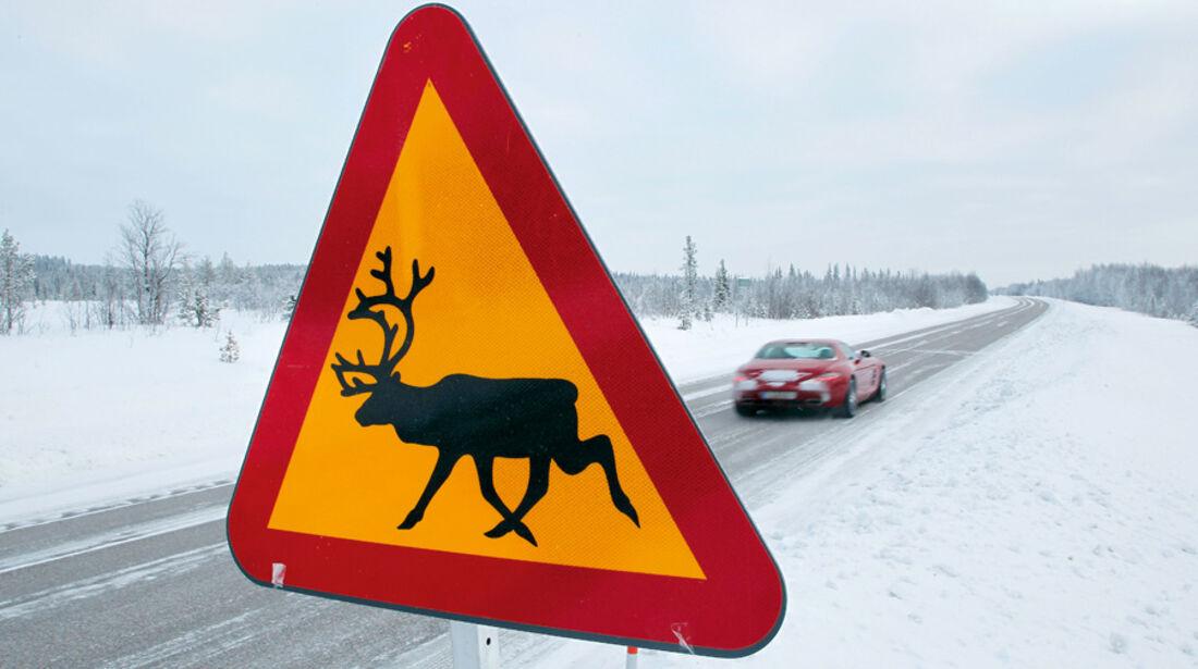 SCHWEDEN: Die Routen der Testfahrer