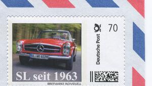 SL Pagode Briefmarke