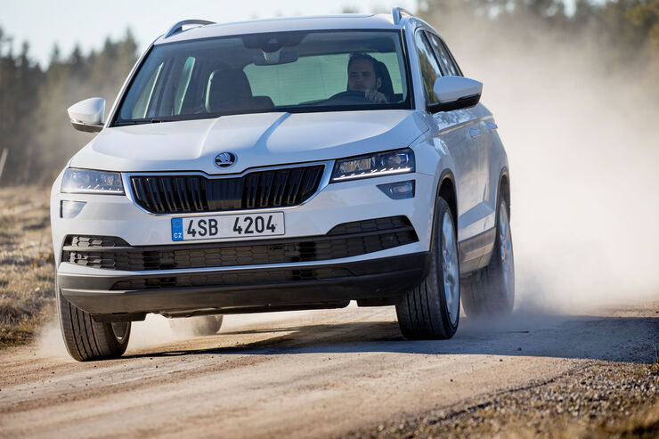 autonis 2017 skoda karoq ist sch nster kompakt suv auto. Black Bedroom Furniture Sets. Home Design Ideas
