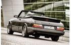 Saab 900 Cabriolet, Heckansicht