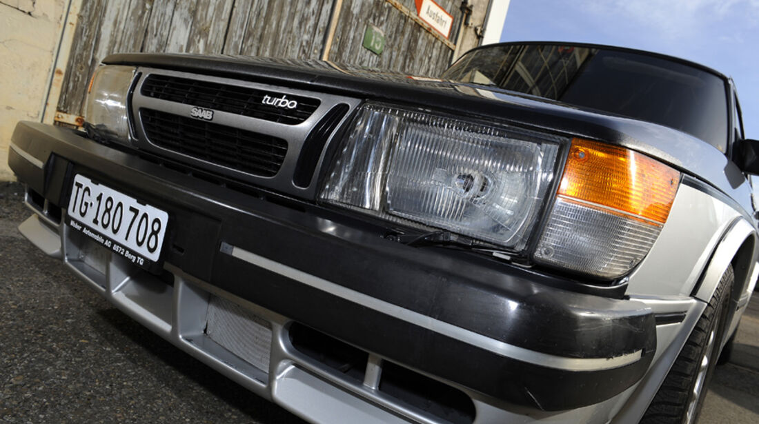 Saab 900 Turbo DeLuxe, Baujahr 1984 Scheinwerfer
