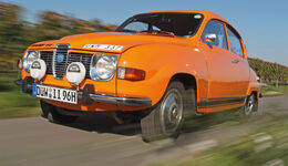 Saab 96, Frontansicht