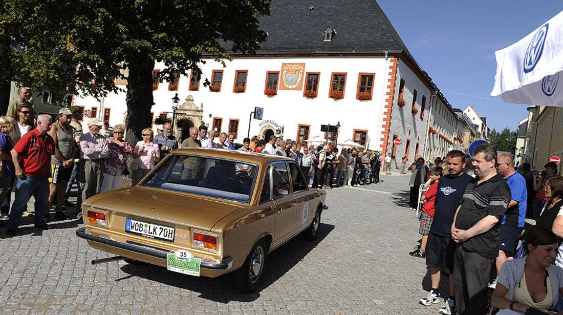 """Sachsen Classic 2010, Impressionen der Etappe """"Die Gläserne Manufaktur"""""""