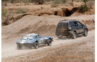 Safari-Revival Ostafrika, Abschleppen