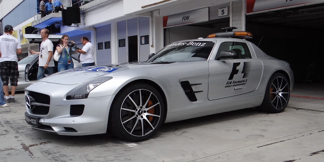 Safety-Car - Formel 1 - Budapest - GP Ungarn - 26. Juli 2012