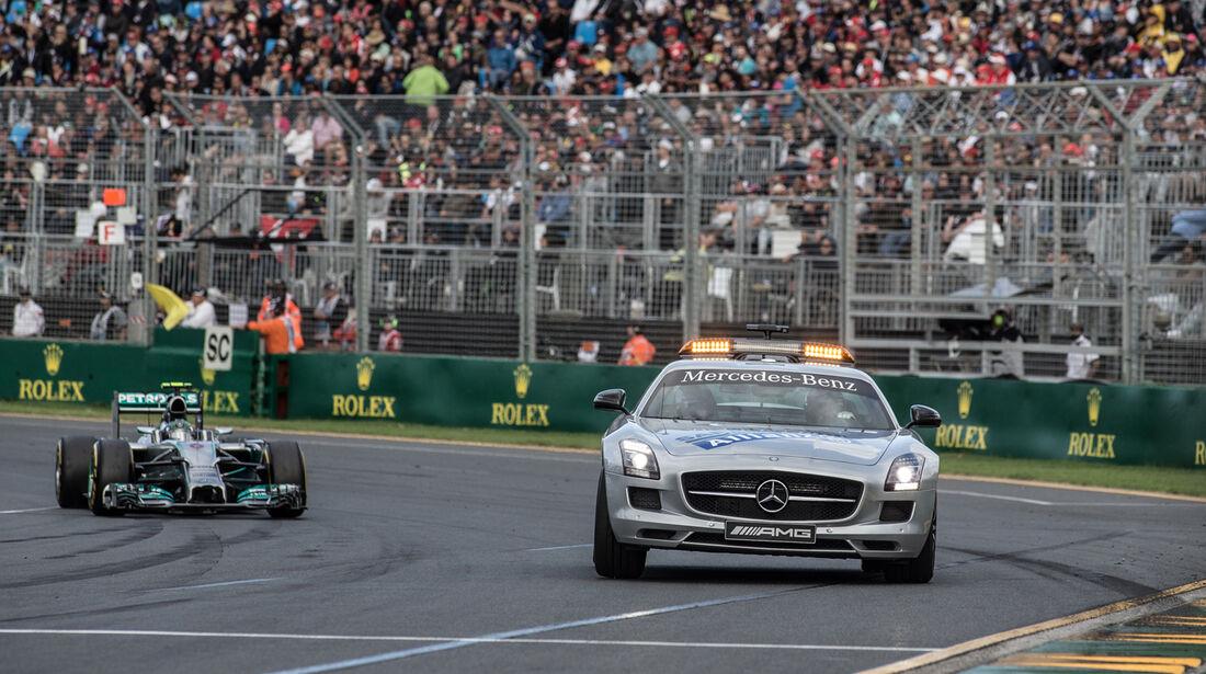 Safety-Car - Formel 1 - GP Australien 2014 - Danis Bilderkiste